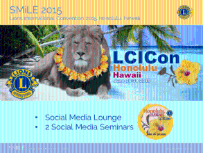 SMiLE at LCICON 2015 in Honolulu, Hawaii