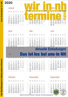 Wir in nh Extra 20 2020 Termine