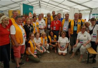 Gruppenfoto Special Olympics