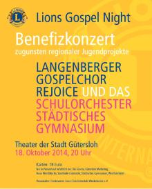 Lions Gospel Night 2014
