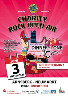 Charity Rock Open Air wird verschoben