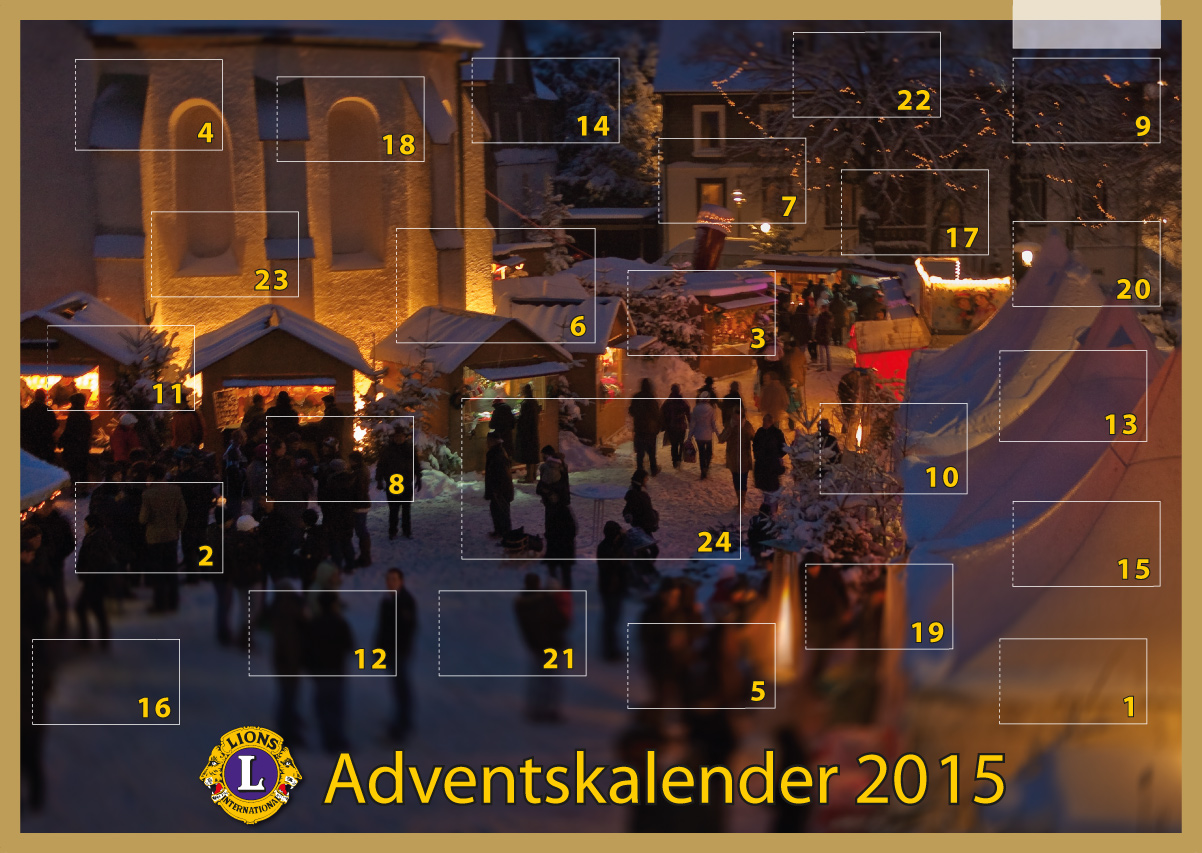 lions club heilbronn adventskalender