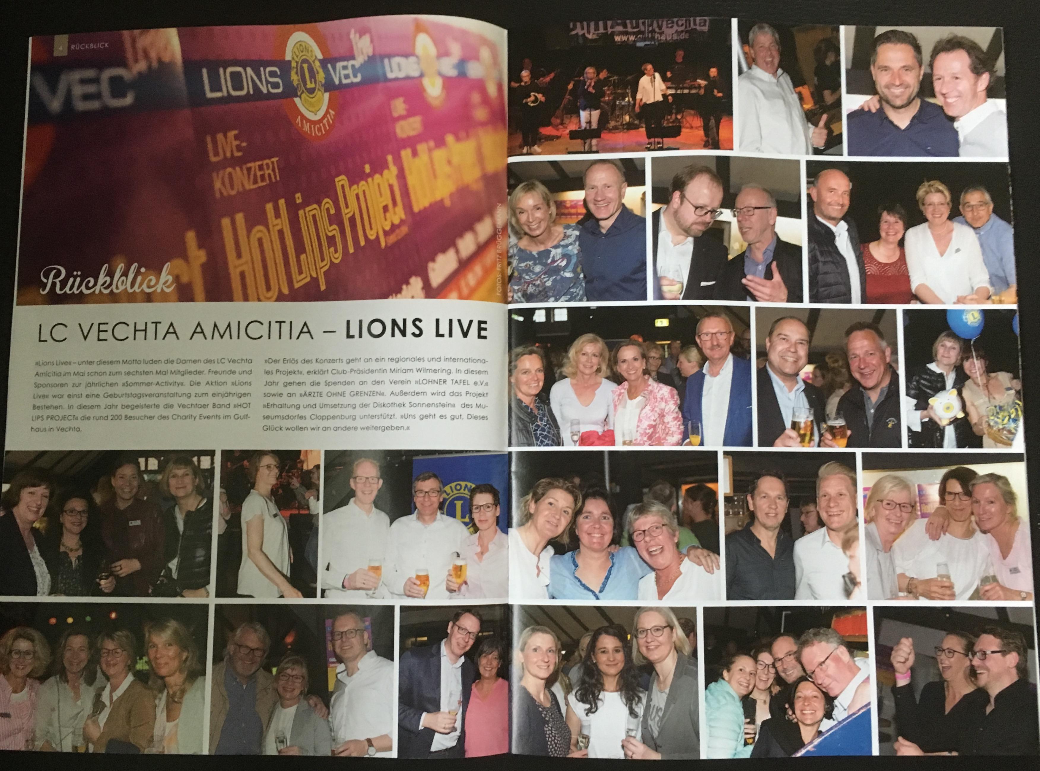 Vechta Amicitia Lions Live Konzert 2015 News Vechta Amicitia