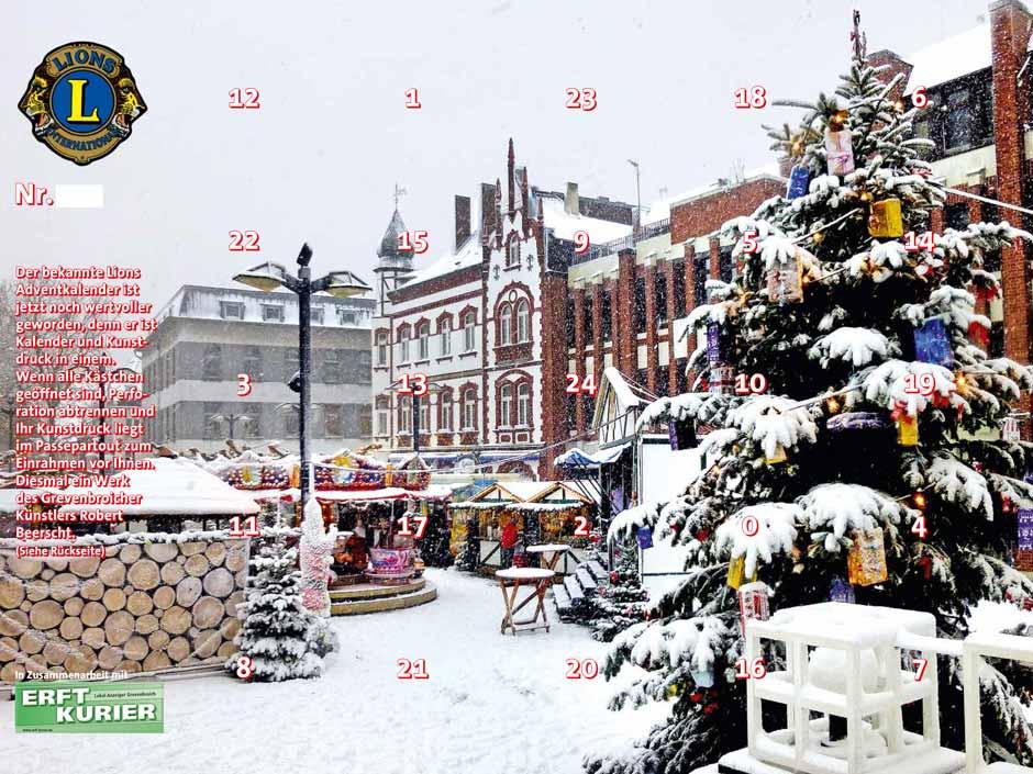 Gewinn Weihnachtskalender.Grevenbroich Adventskalender Grevenbroich