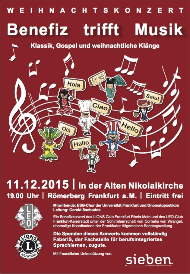 Frankfurt rhein main weihnachtskonzert - Mobelhauser frankfurt am main und umgebung ...