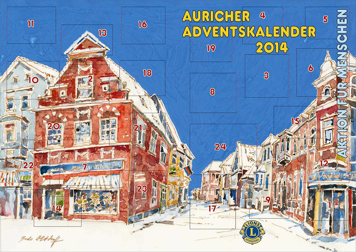 Lions Club Weihnachtskalender.Aurich Tom Brook Adventskalender Aurich Tom Brook