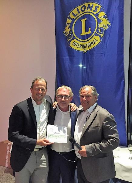 Lions Golf Meisterschaft Spendenaktion