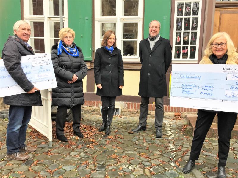 """Spendenübergabe LC """"Anna zu Stolberg-Wernigerode"""""""