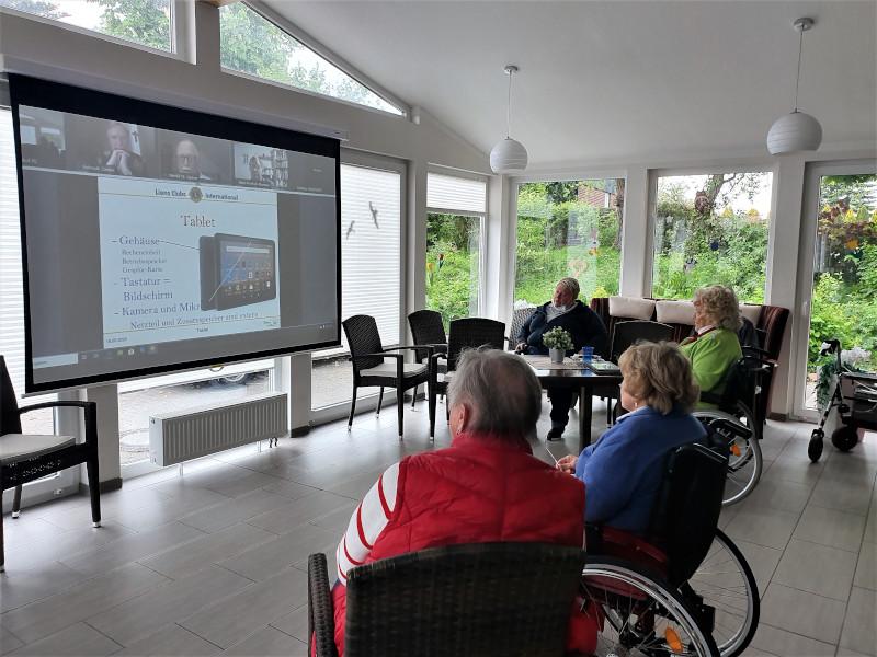 Seniorenhaus Online Vortrag