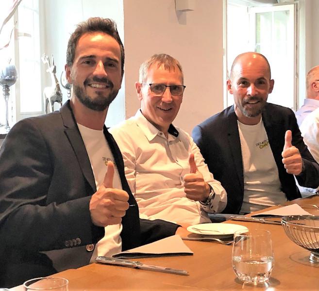 Foto von Herrn Meyer, Herrn Henning und Herrn Boos