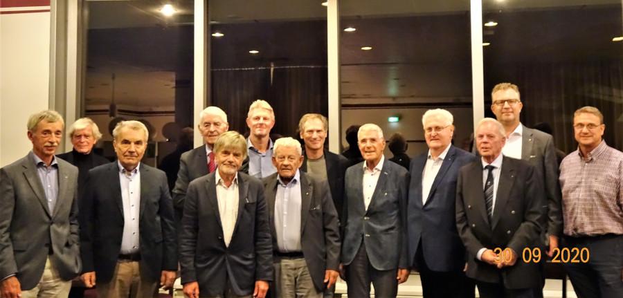 Gruppenfoto der LC Berlin-Grunewald Mitglieder