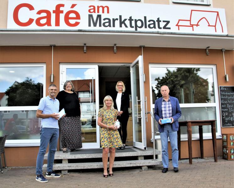 Michael Thiem, Inge Weber, IPDG Manuela Neuner (BN), PDG Sigrid Thiem (BN), Werner Kinkel (v. l.).
